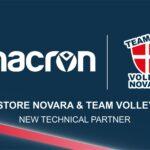 Macron Store Novara sposa il Team Volley